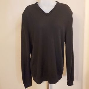Calvin Klein  Merino Wool V Neck Sweater XL